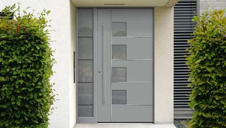 Kunststoff Haustür